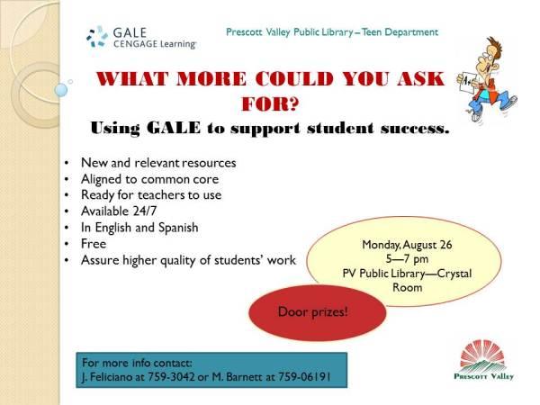 Gale presentation
